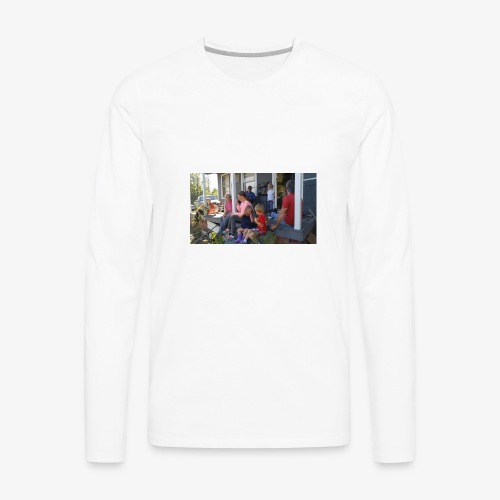 A family Gathering - Men's Premium Long Sleeve T-Shirt