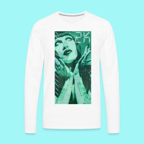 TWO_KAY_00 GOTH GIRL - Men's Premium Long Sleeve T-Shirt