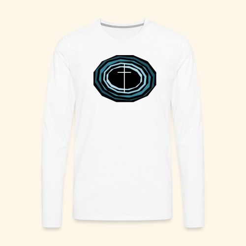 Cross Wheel - Men's Premium Long Sleeve T-Shirt