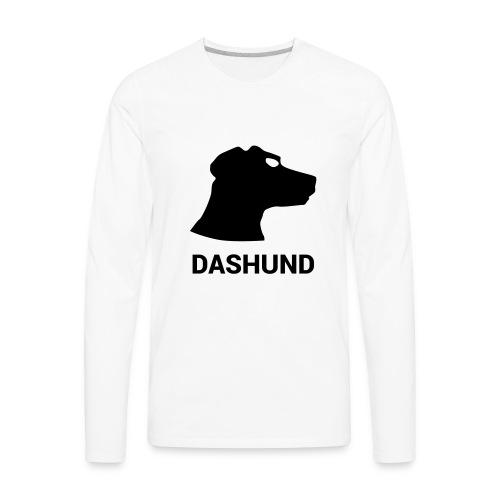 DASHUND - Men's Premium Long Sleeve T-Shirt