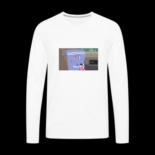towelie shirt - Men's Premium Long Sleeve T-Shirt