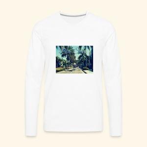 Blue Skies Beverley Hills Edition - Men's Premium Long Sleeve T-Shirt