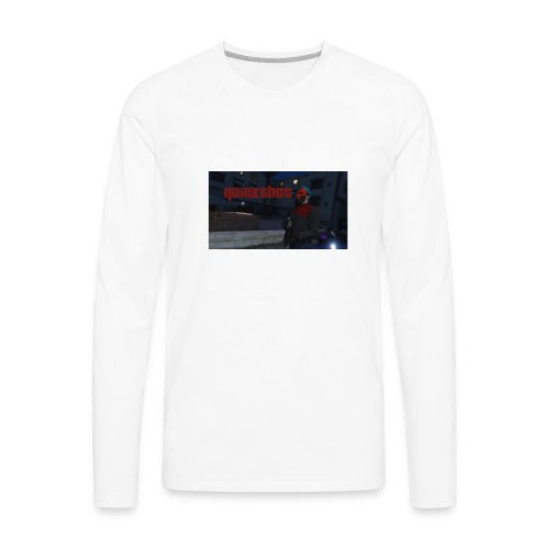quickshot mug - Men's Premium Long Sleeve T-Shirt
