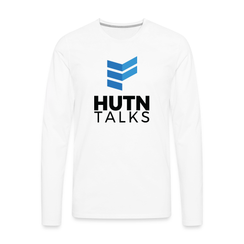HUTN Talks - Men's Premium Long Sleeve T-Shirt