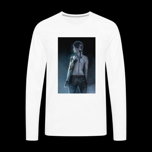 ErikaCosplay Bucky - Men's Premium Long Sleeve T-Shirt