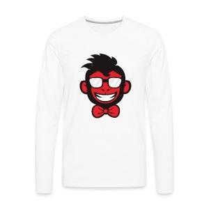 red monkey - Men's Premium Long Sleeve T-Shirt