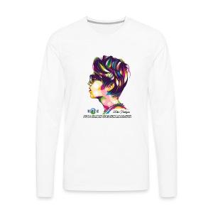 2018 Dimash Reaction Marathon - Men's Premium Long Sleeve T-Shirt