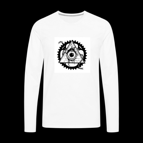 Eye Of Life - Men's Premium Long Sleeve T-Shirt