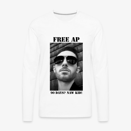 OG Free AP - Men's Premium Long Sleeve T-Shirt