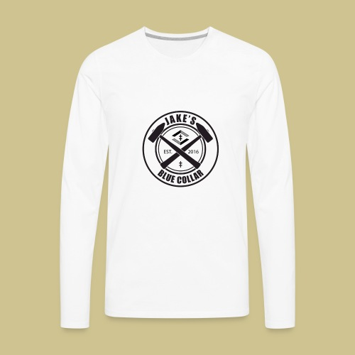JakesBlueCollar - Men's Premium Long Sleeve T-Shirt
