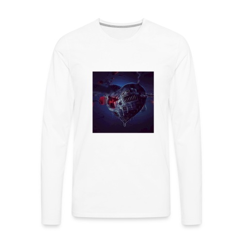 STEAM HEART - Men's Premium Long Sleeve T-Shirt