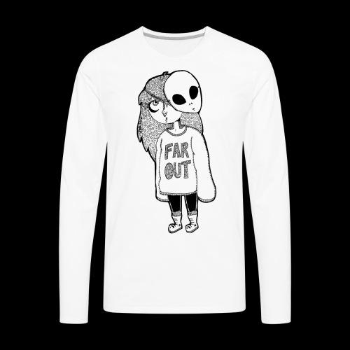 Alien Babe - Men's Premium Long Sleeve T-Shirt