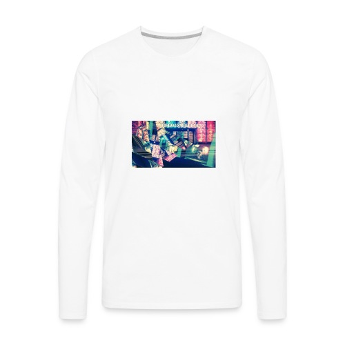 ElectricNights - Men's Premium Long Sleeve T-Shirt