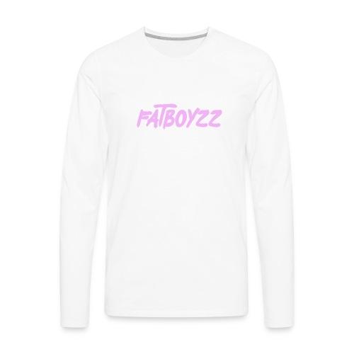 OG FATBOYZ LOGO - Men's Premium Long Sleeve T-Shirt
