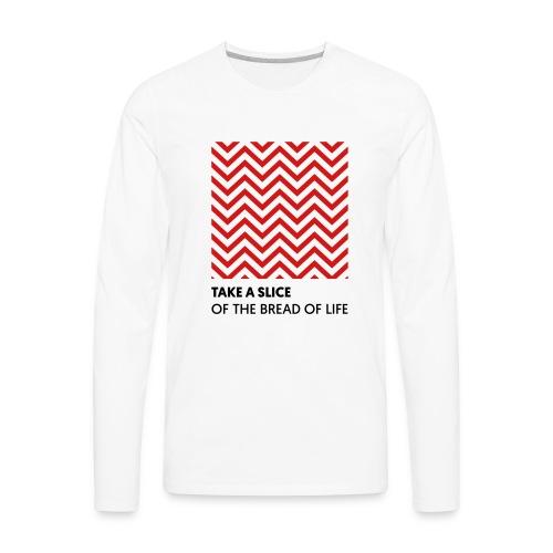 Take A Slice - Men's Premium Long Sleeve T-Shirt