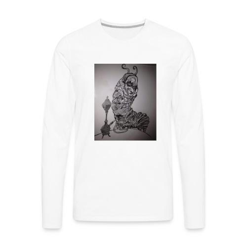 Black caterpillar - Men's Premium Long Sleeve T-Shirt