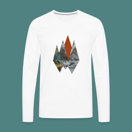 Peaks - Men's Premium Long Sleeve T-Shirt