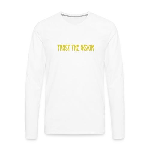 TTV Yellow - Men's Premium Long Sleeve T-Shirt