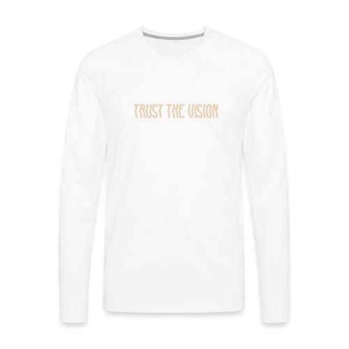 TTV Beige - Men's Premium Long Sleeve T-Shirt