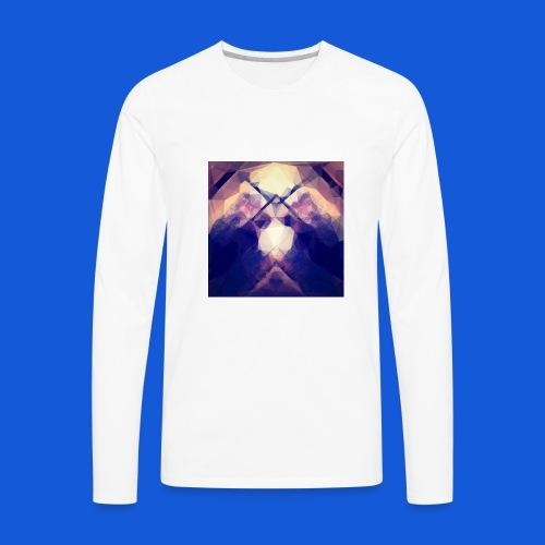 The Blurred Lines - Men's Premium Long Sleeve T-Shirt