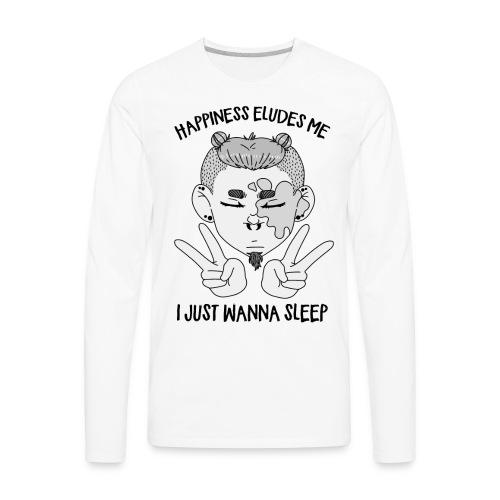 Happiness? - Men's Premium Long Sleeve T-Shirt