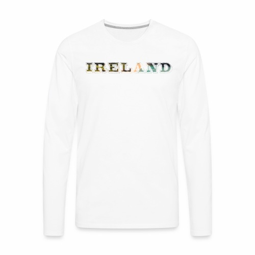 Ireland Scenic Irish Coast Travel - Best Seller - Men's Premium Long Sleeve T-Shirt