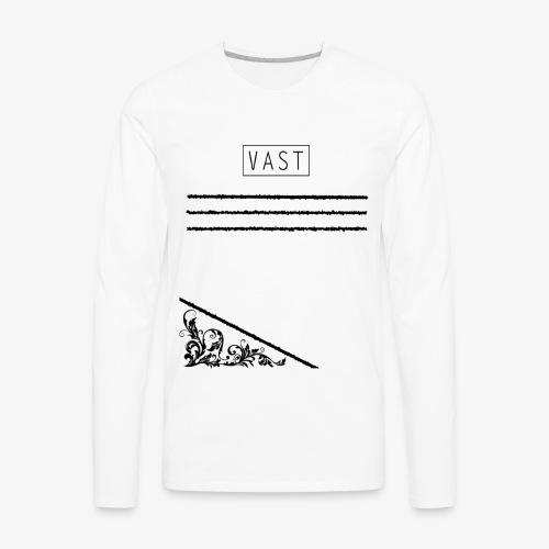Vintage   Vast Clothing - Multi Designed Shirts+ - Men's Premium Long Sleeve T-Shirt