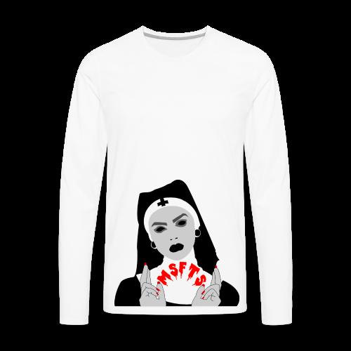 Pray For Us - Men's Premium Long Sleeve T-Shirt