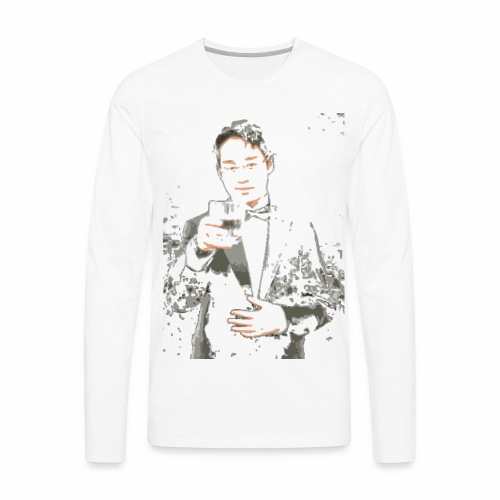 Larry Isn't Real - Men's Premium Long Sleeve T-Shirt