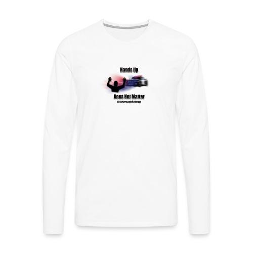 HANDSUPpng - Men's Premium Long Sleeve T-Shirt
