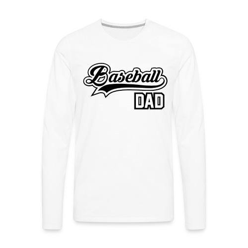 Baseball Dad - Men's Premium Long Sleeve T-Shirt