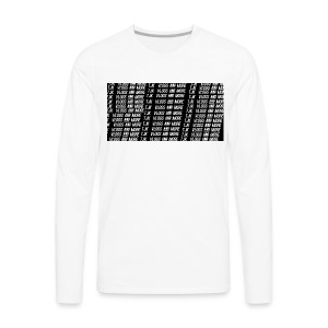 TJK First Apparel Design - Men's Premium Long Sleeve T-Shirt