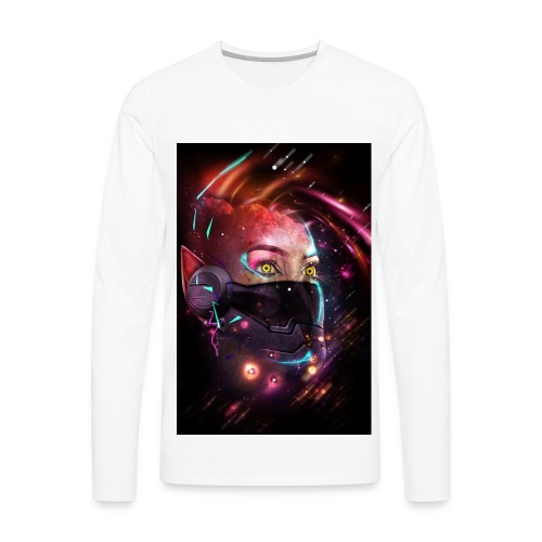 I see lights - Men's Premium Long Sleeve T-Shirt