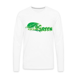 go green - Men's Premium Long Sleeve T-Shirt