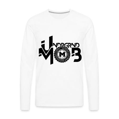 UMOB Black - Men's Premium Long Sleeve T-Shirt