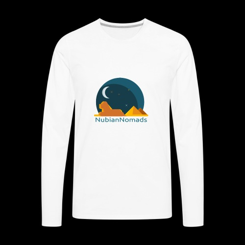 Nubian Nomads - Men's Premium Long Sleeve T-Shirt