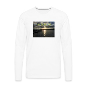 Live by the sea - Men's Premium Long Sleeve T-Shirt