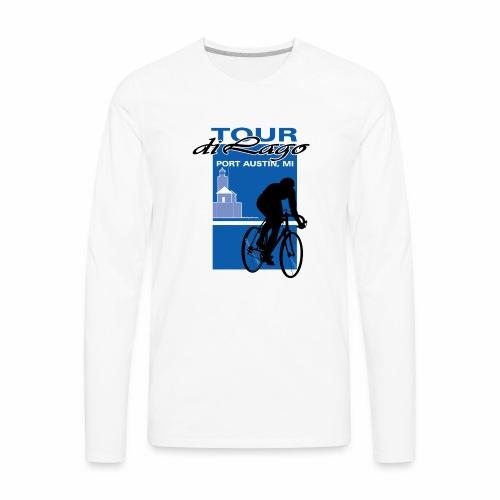 Tour di Lago - Men's Premium Long Sleeve T-Shirt