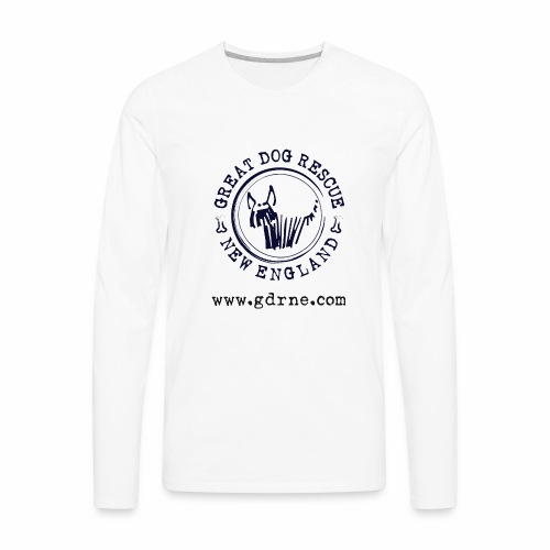 GDRNE Logo - Men's Premium Long Sleeve T-Shirt