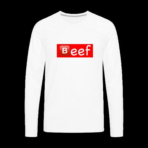 Beef - Men's Premium Long Sleeve T-Shirt