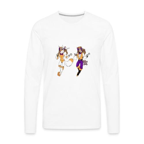 lolbit by blasticheart d9pao30 - Men's Premium Long Sleeve T-Shirt