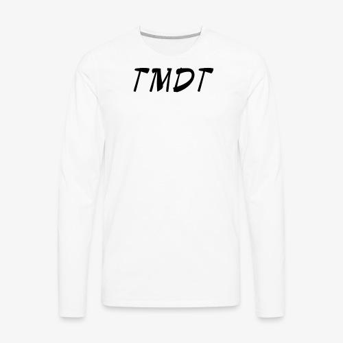 Official TMDT brand logo. - Men's Premium Long Sleeve T-Shirt