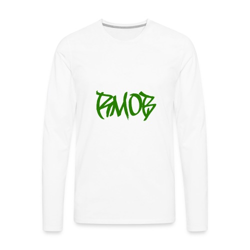 RM0B text - Men's Premium Long Sleeve T-Shirt