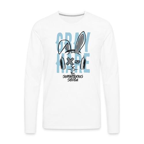 Gray Hare 2 - The Superfluous Seven - Men's Premium Long Sleeve T-Shirt