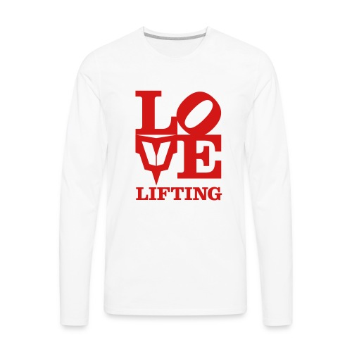 Love Lifting - Men's Premium Long Sleeve T-Shirt