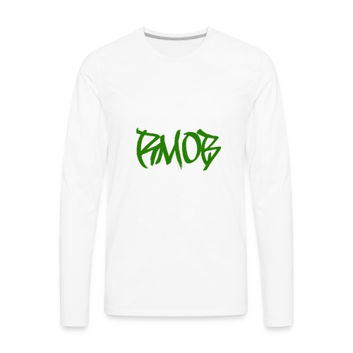 RM0B text - Men's Premium Long Sleeve T-Shirt