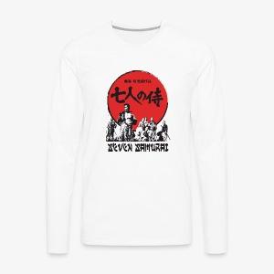 Seven Samurai - Men's Premium Long Sleeve T-Shirt