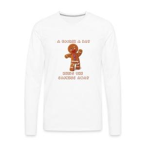 National Gingerbread Day - Men's Premium Long Sleeve T-Shirt