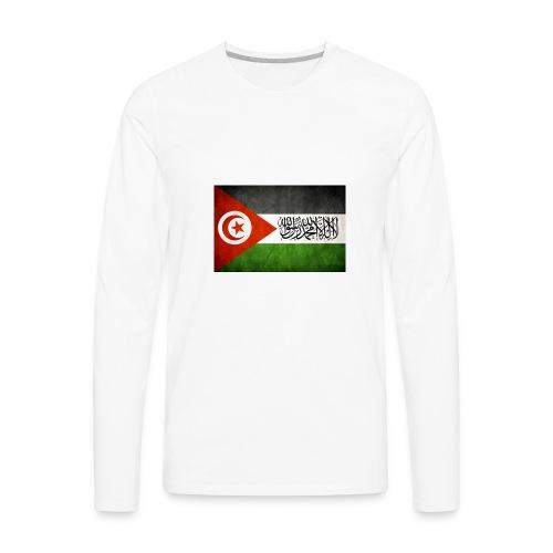 tunisia palestine United - Men's Premium Long Sleeve T-Shirt