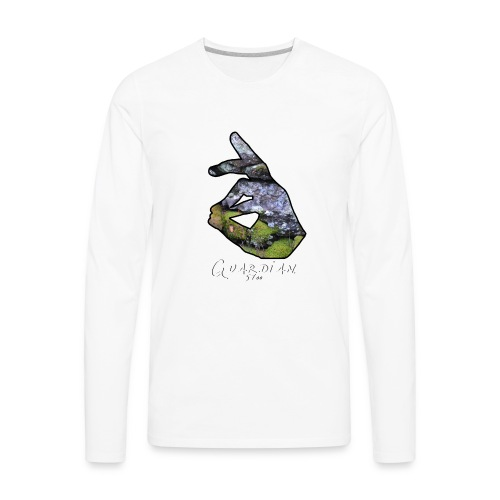 Guardian bricks - Men's Premium Long Sleeve T-Shirt